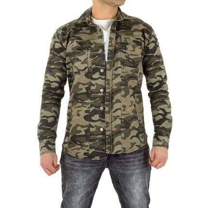 Man's pullover camouflage