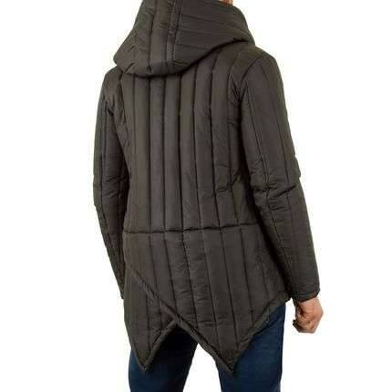 Brown capy winter jacket