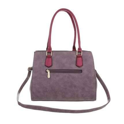 Trendy purple bag