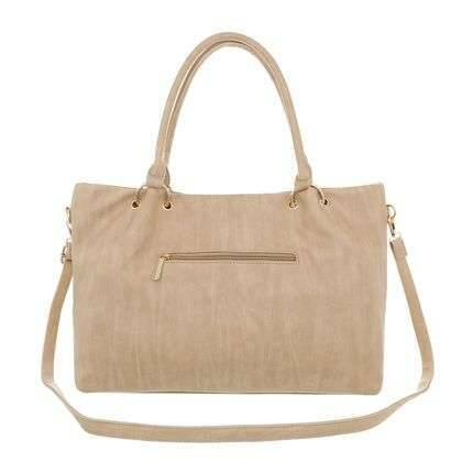 Trendy light brown bag