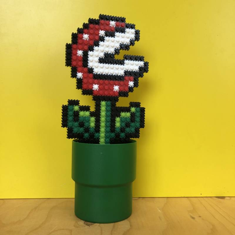 Game flower - piranha plant