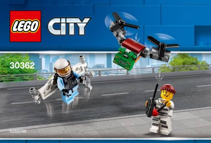 LEGO City 30362 - bouwlab in de bus