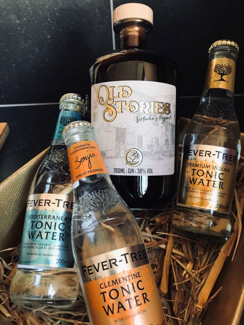 Verwenmand Old Stories Gin Tonic