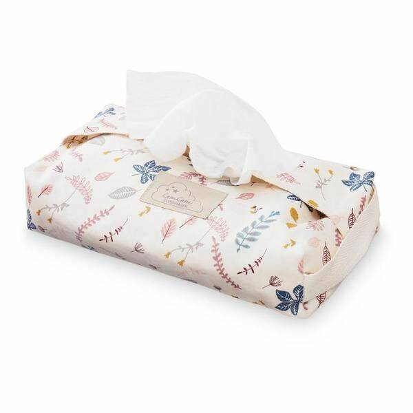 Camcam wet wipe cover pressed leaves