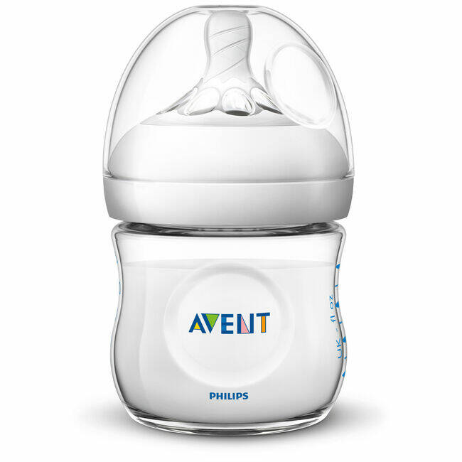 Avent zuigfles natural 125ml wit