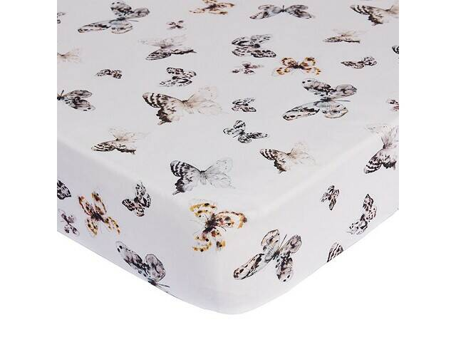 Mies & co fitted sheet toddler bed fika butterfly 60x120