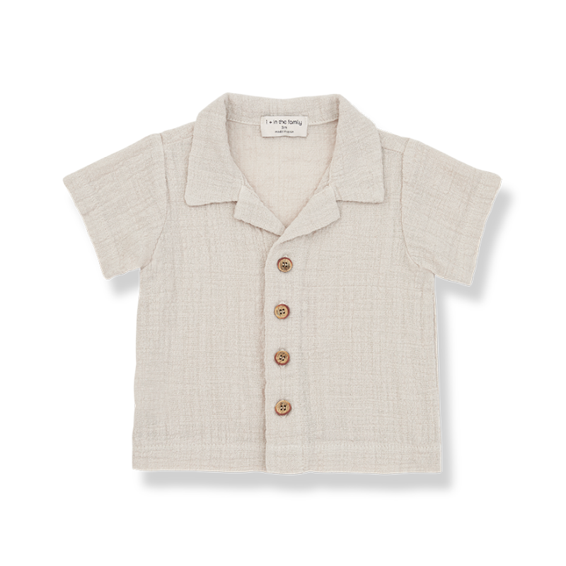 One More in The Family s.sleeve beige david