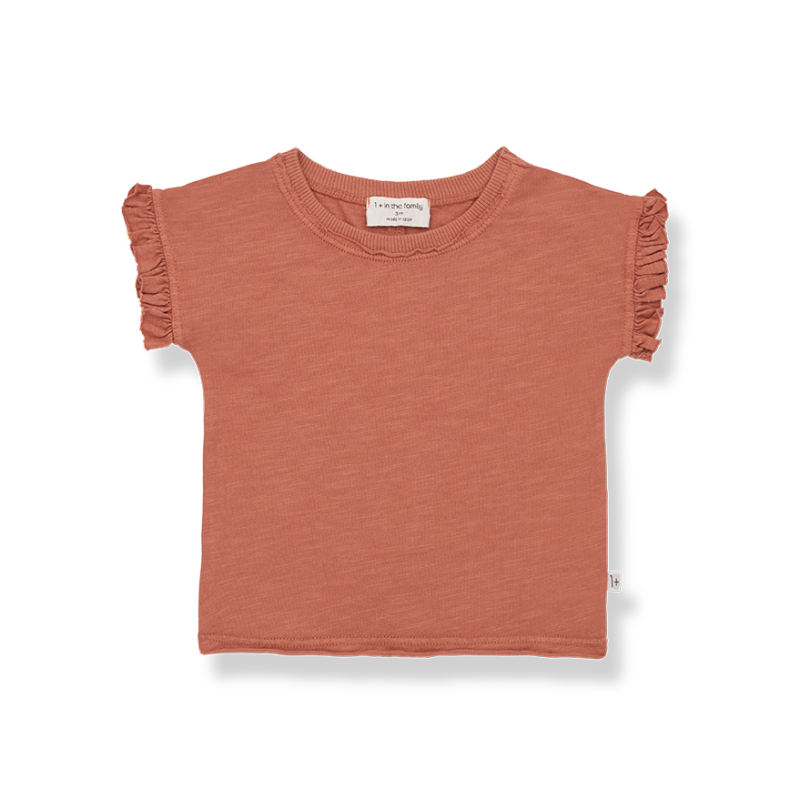 One More In The Family s.sleeve t-shirt roibos Mireia