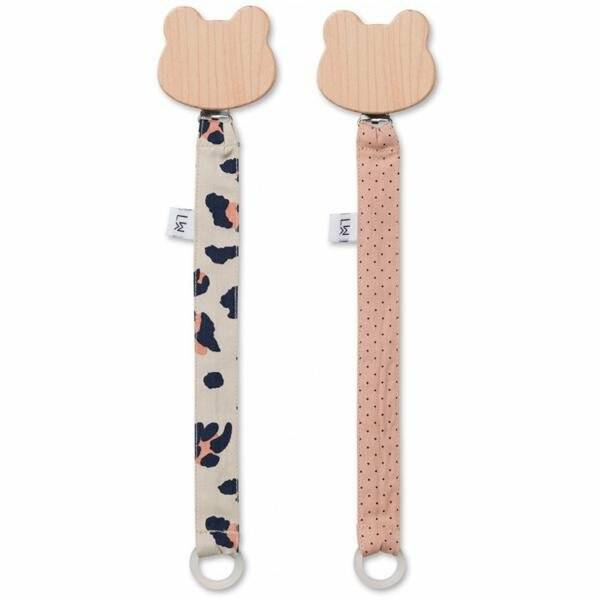 Liewood pacifier strap 2 pack