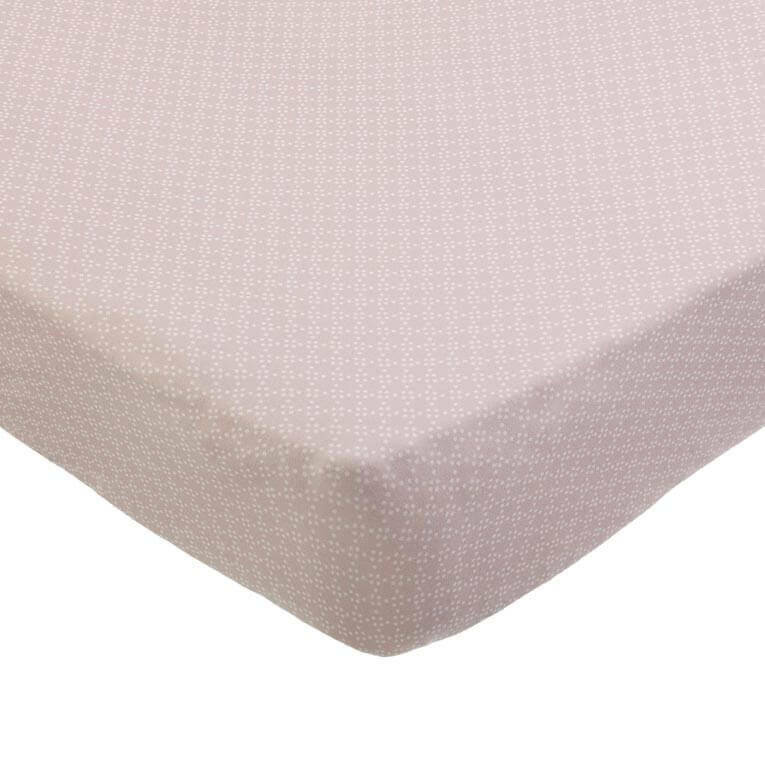 Mies & co fitted sheet baby crib pretty pearls  40x80