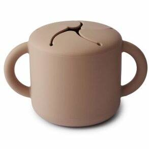 Mushie snack cup natur