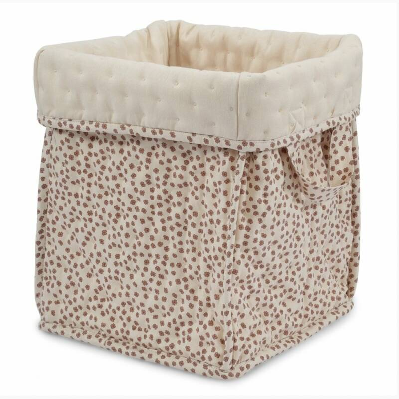 Konges slojd small Quilted box buttercup rose