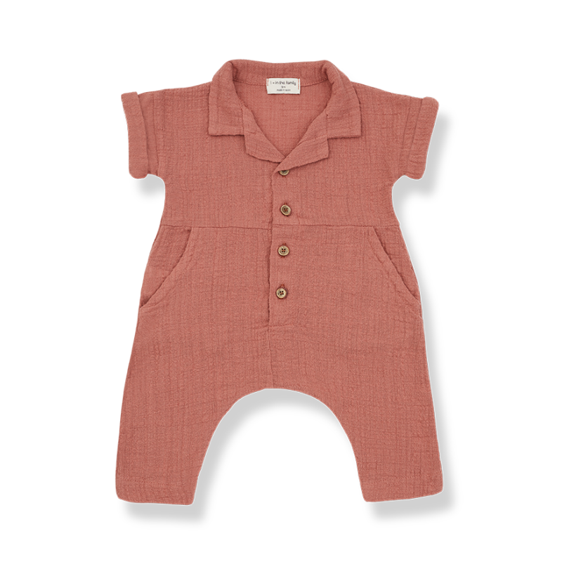 One More In The Family jumpsuit  roibos Carlota