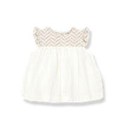 One More In The Family dress beige Romita