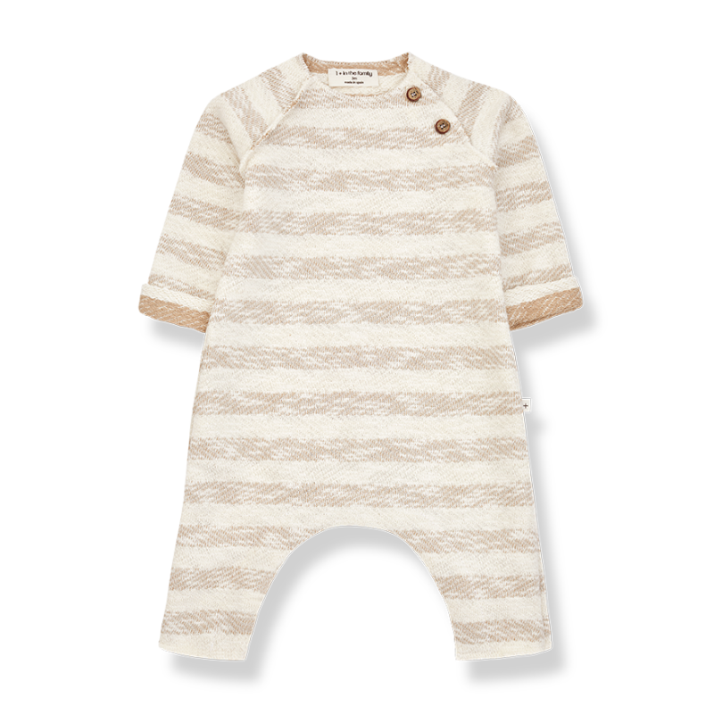 One more In The Family jumpsuit beige Amir