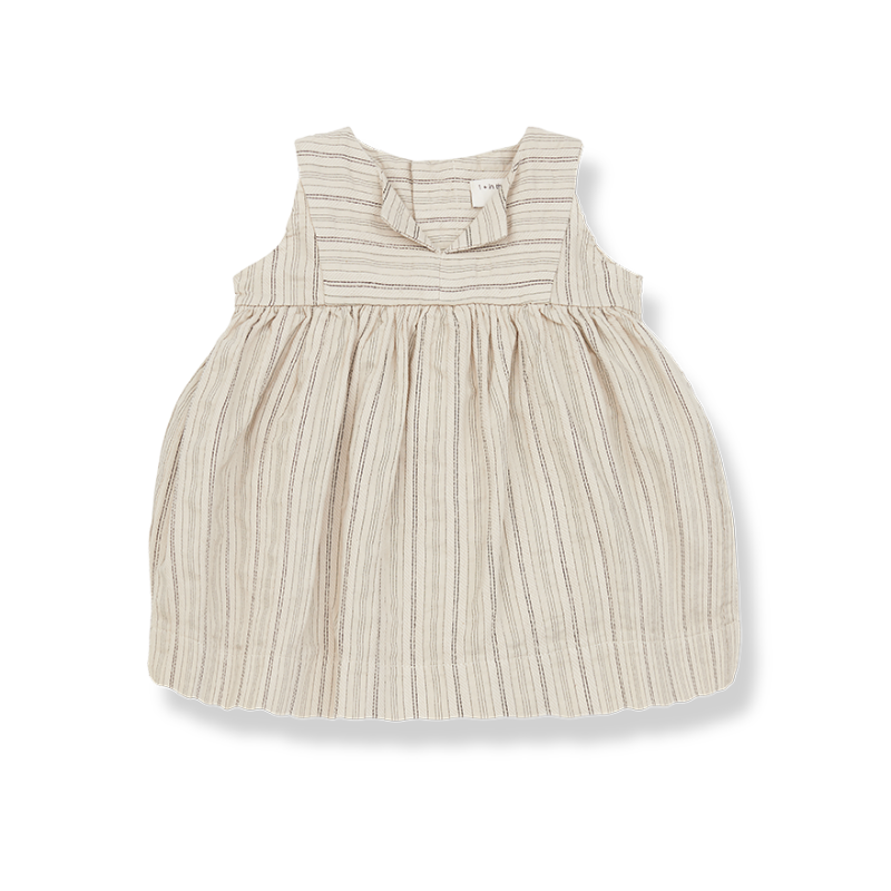 One More In The Family dress beige Rita