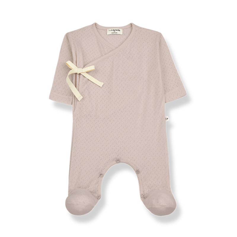 One More In The Family jumpsuit nude Sonia
