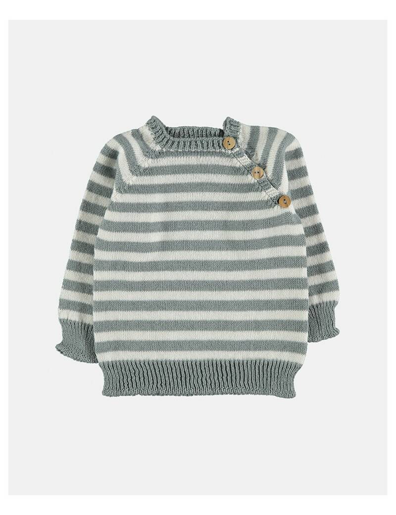 Petit oh! knitted leo sweater