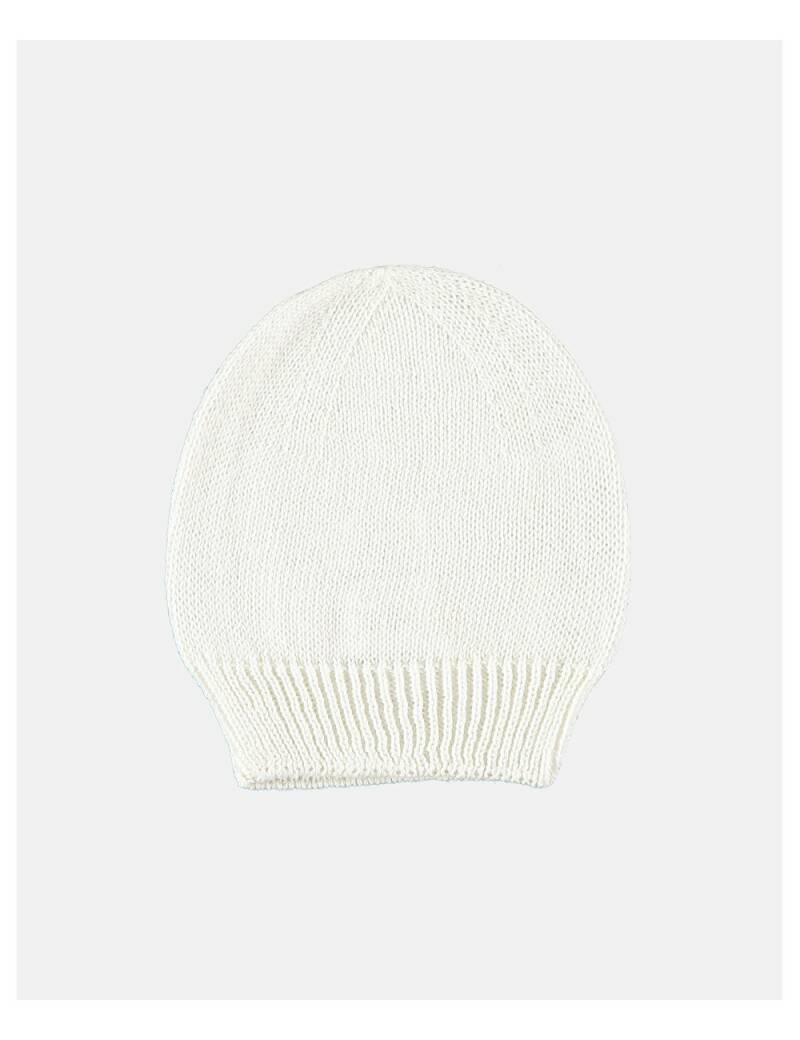 petit oh! knitted hat vanilla
