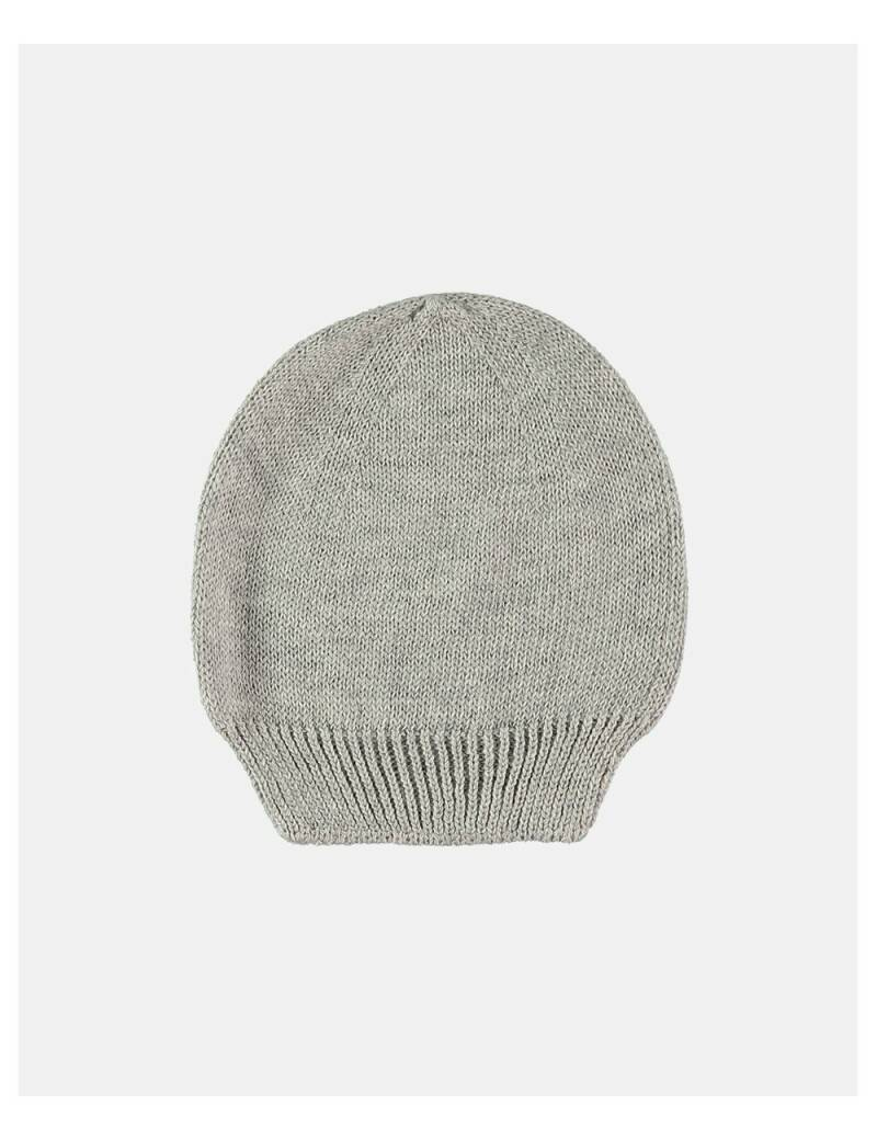 Petit oh! knitted hat grey