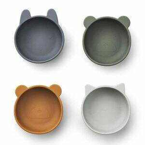 Liewood silicone bowl - Blue Mix