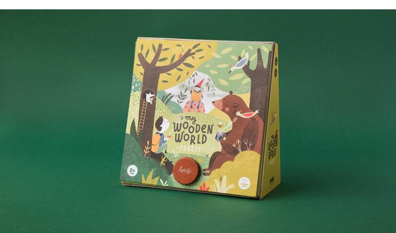 Londji wooden toys - my wooden world forest