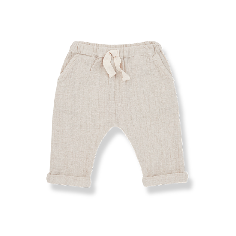 One more In The Family long pants beige hector