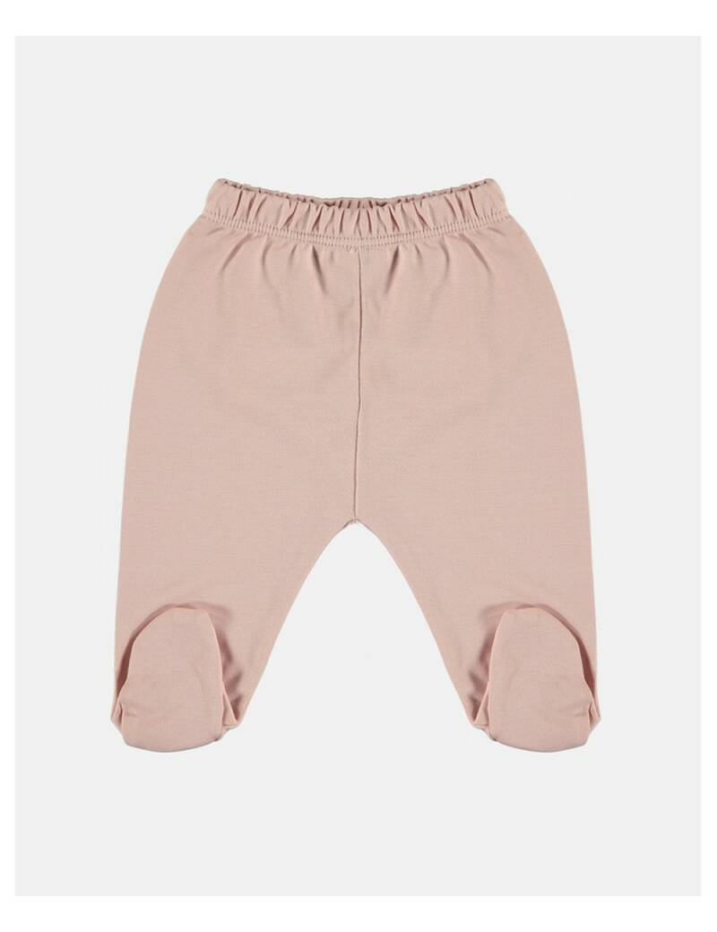 Petit oh! footed pants rose