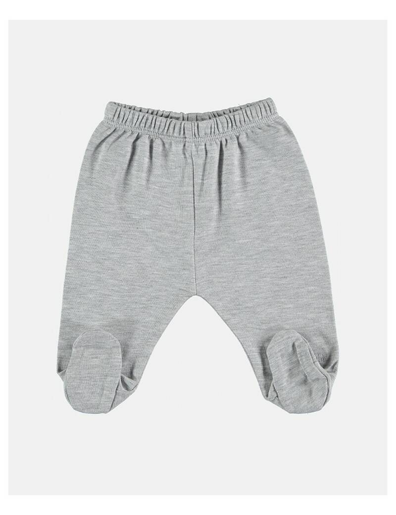 Petit oh! footed pants grey