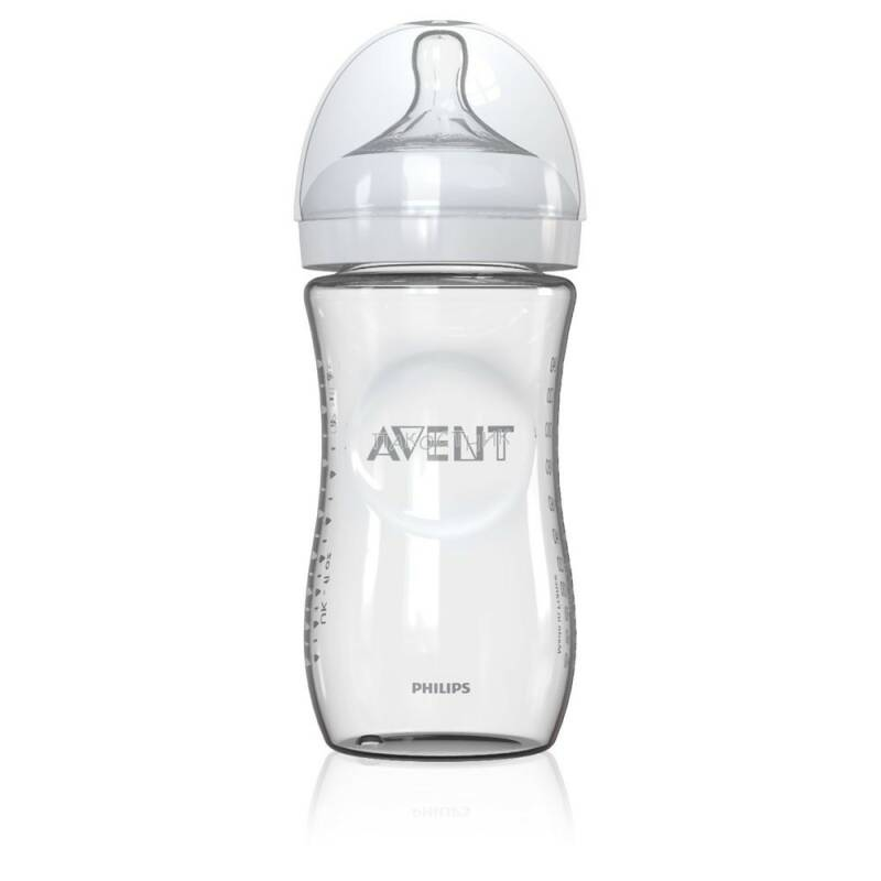 Avent natural zuigfles glas 240ml