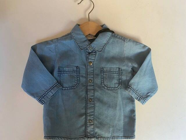 One more in the family shirt denim