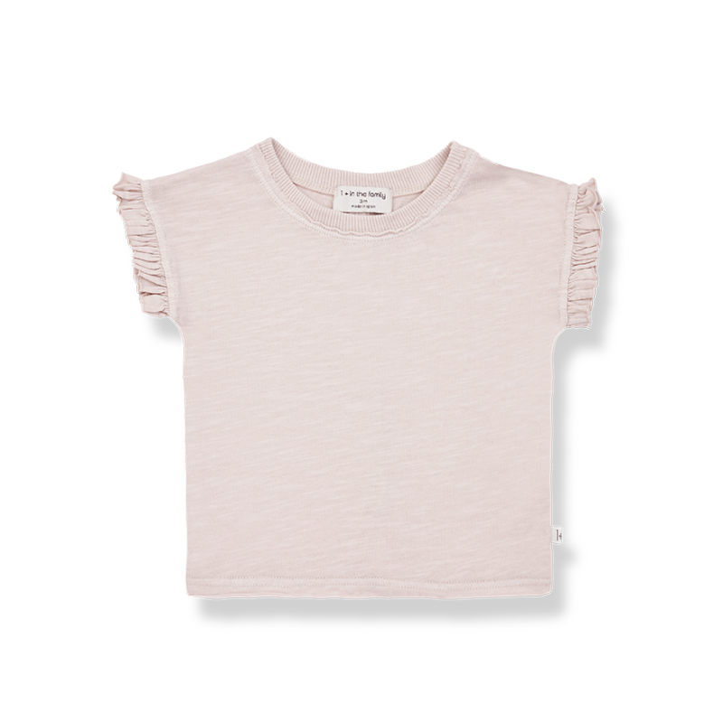 One More In The Family s.sleeve t-shirt rose mireia