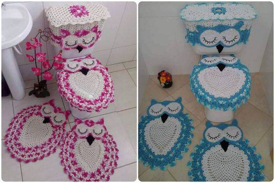 Crochet Bath set - Pinterest