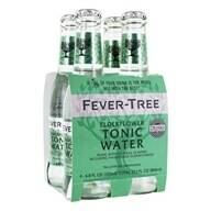Fever Tree Elderflower Tonic Water 4x20cl (Groen)