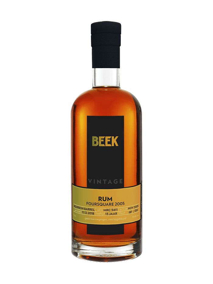 BEEK Rum Foursquare Vintage 2005 Single Barrel