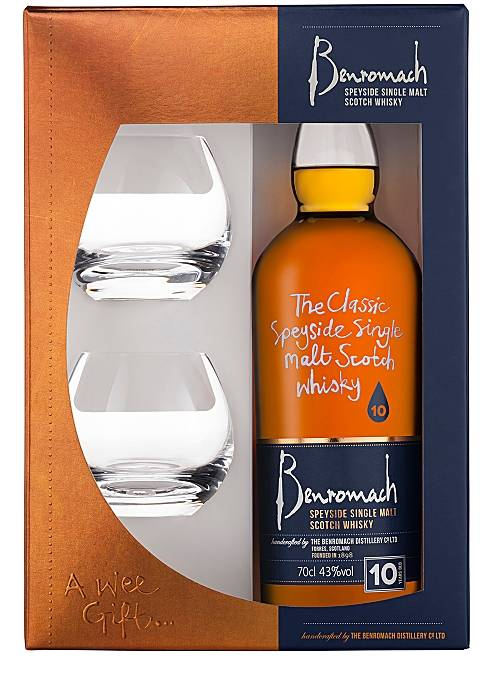 Benromach 10 years old 0,7L Giftpack