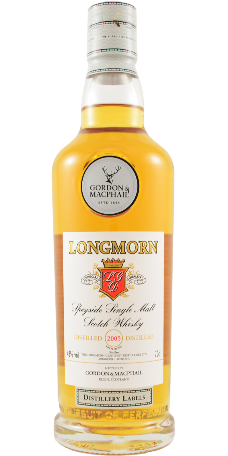 Gordon & Macphail Distillery Label Longmorn 2005 0,7L
