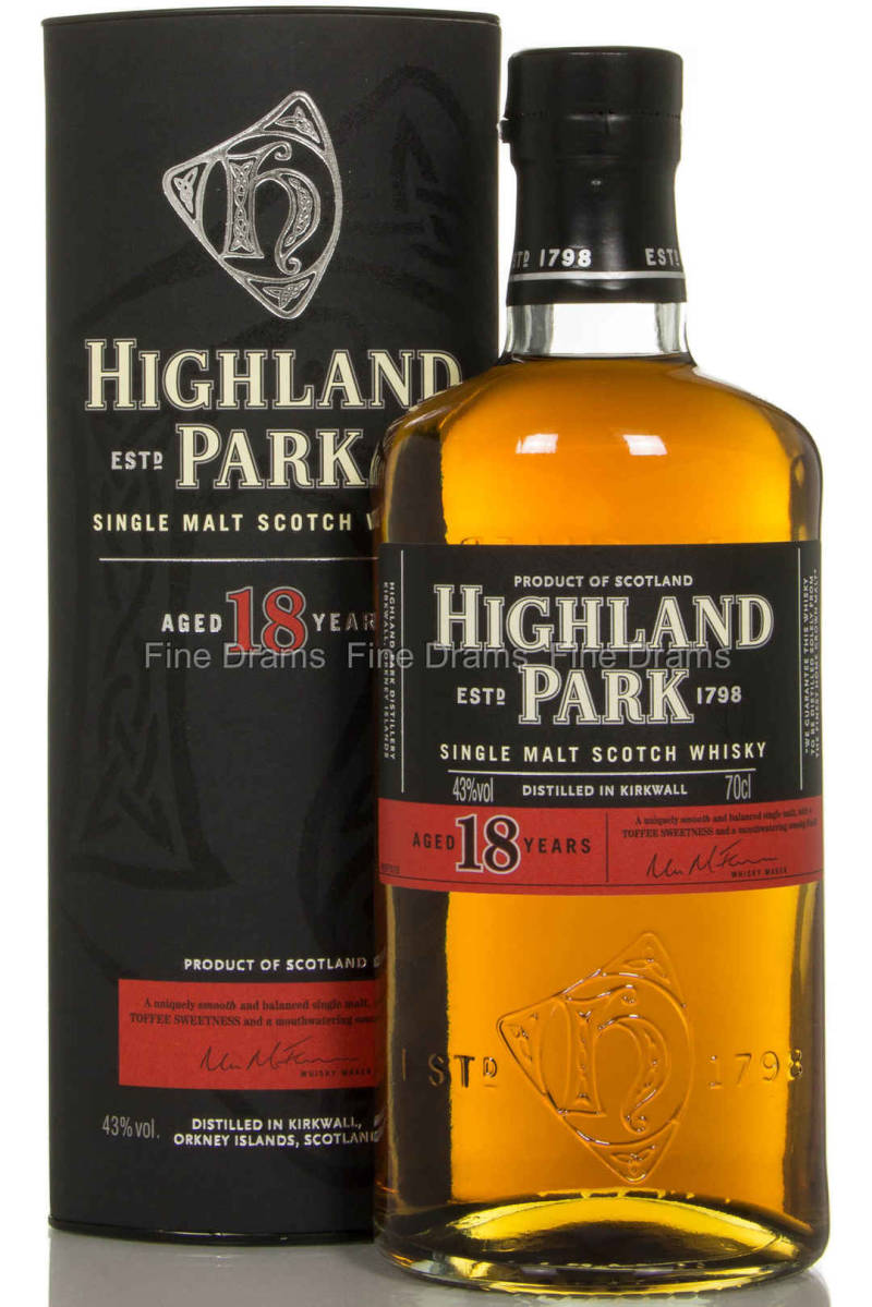 Highland Park 18 years 0,7L