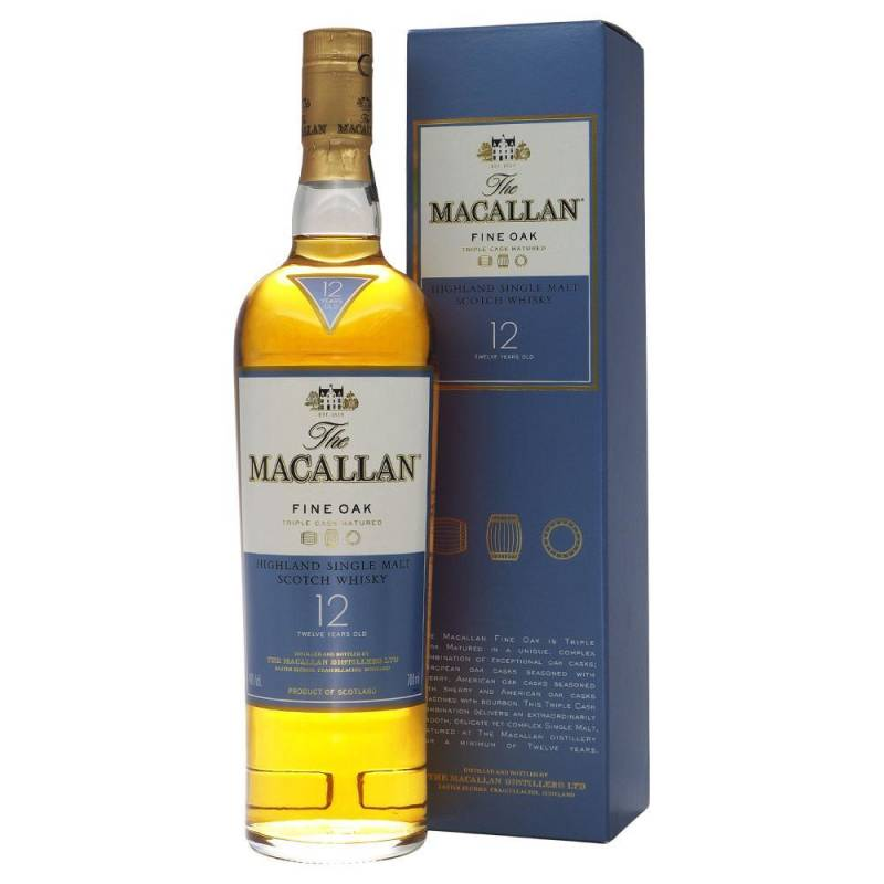 Macallan 12y fine oak 0,7L