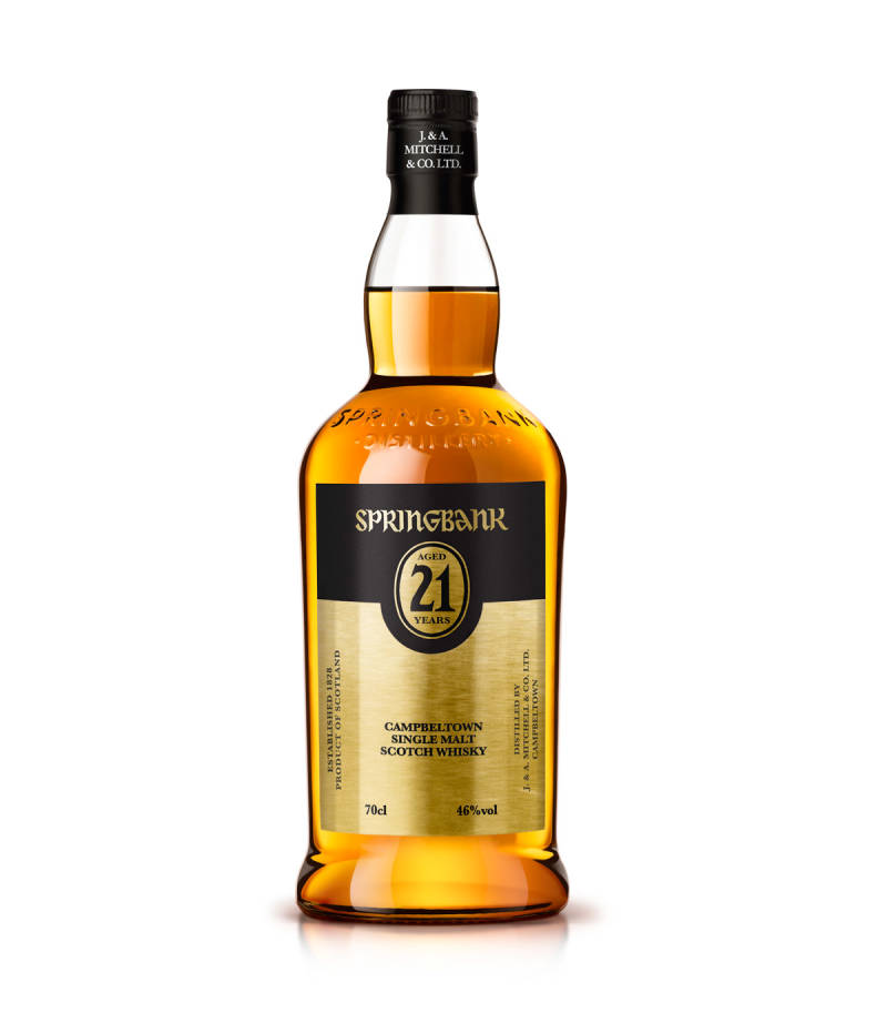 Springbank 21 Year old 17-04-2017  botteling 0,7L
