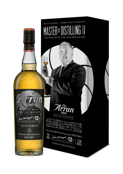 The Arran malt Master of Distilling - The Man with the Golden Glass 0,7L