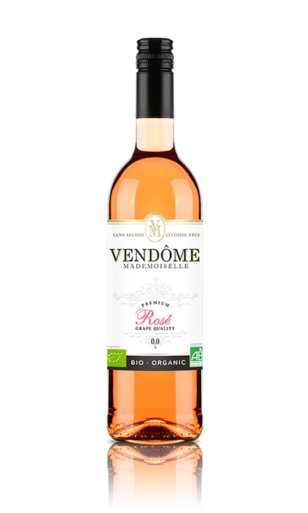 Vendome Mademoiselle rose alcohol vrij 0,7L