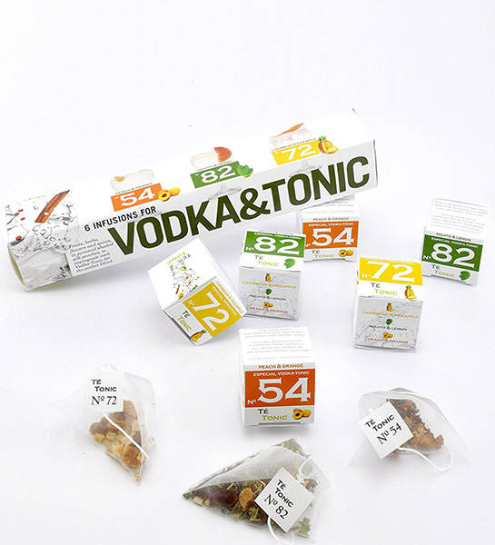 Té Tonic Vodka giftpack