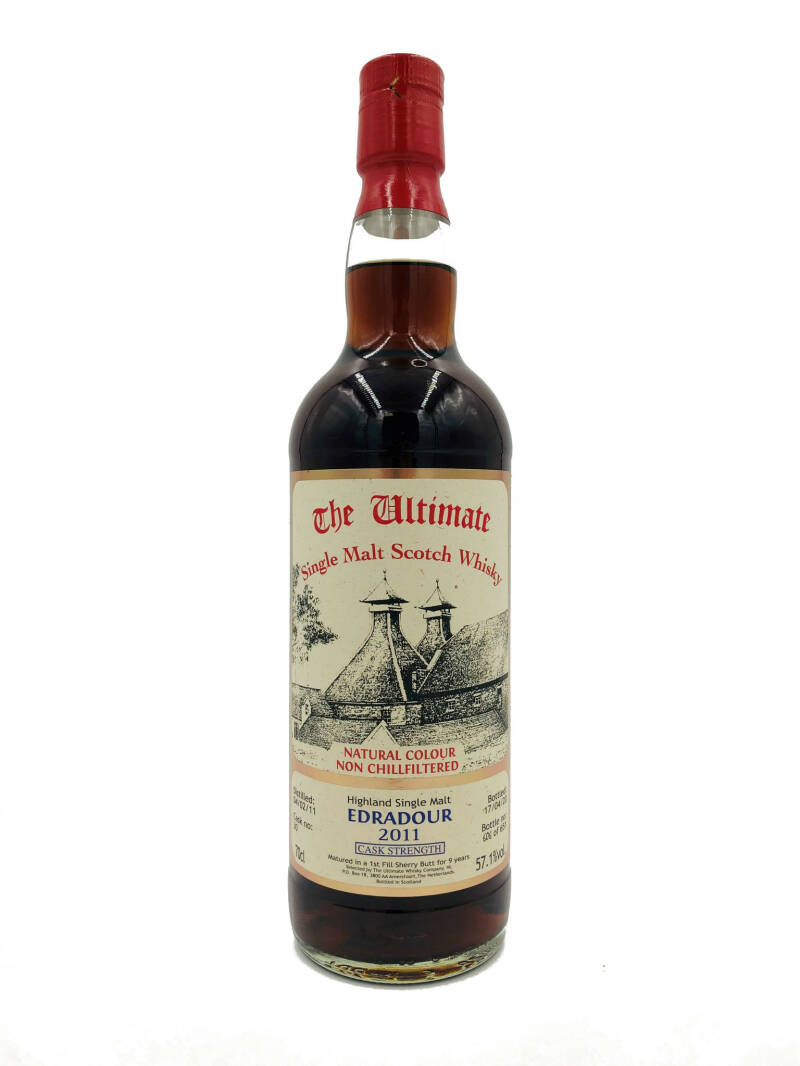 The Ultimate Edradour 9yeus 2011 Cask STtrength cask 23