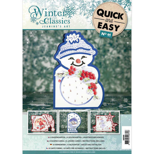 Quick and Easy 011 - Jeanine's Art Winter Classics  Jeanines Art  QAE10011