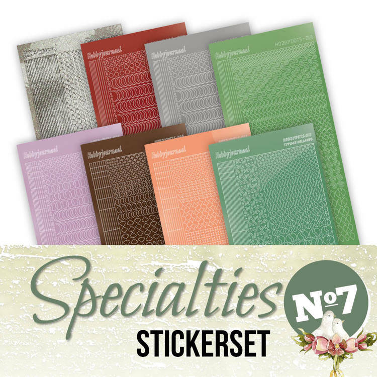 Specialities nr 7 stickerset