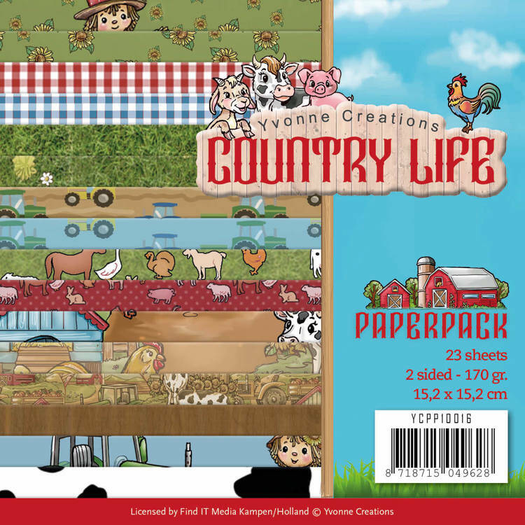 Paperpack - Yvonne Creations - Country Life Country Life Frame