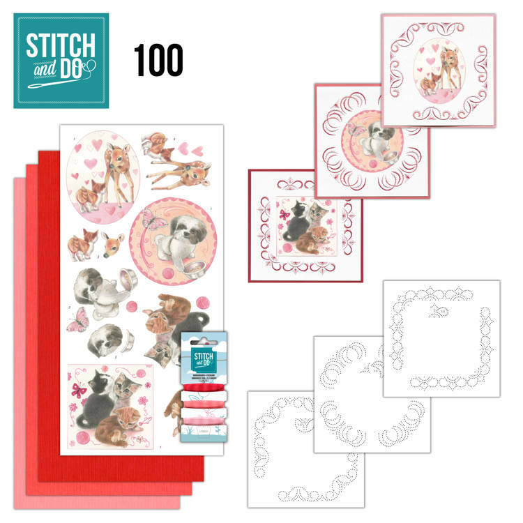 Stich and Do nr 100 Playful Pets
