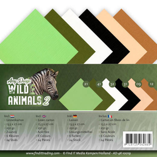 Linnenpakket - 4K - Amy Design - Wild Animals 2