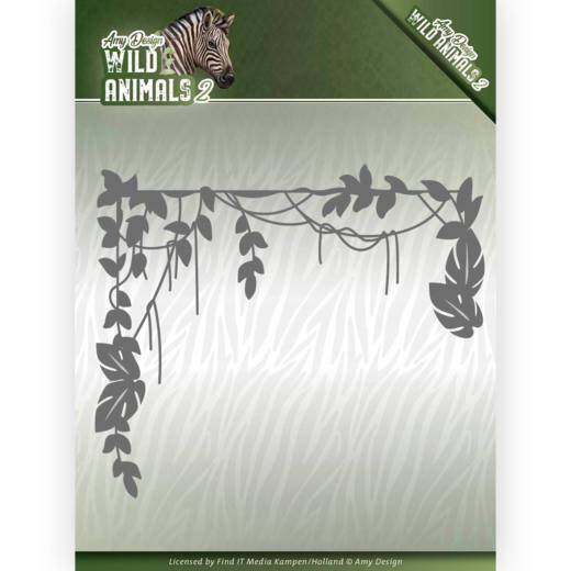 Dies - Amy Design - Wild Animals 2 - Jungle Branch  Amy Design